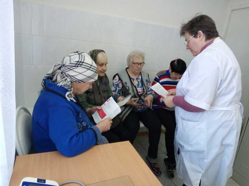 Медицинская лекция в отделении