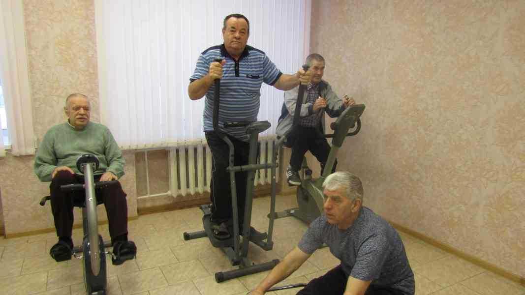 Лечебная физкультура для обслуживаемых ОДП