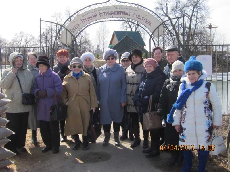 Экскурсия в Свято-Троицкий Островоезерский женский монастырь г. Ворсма